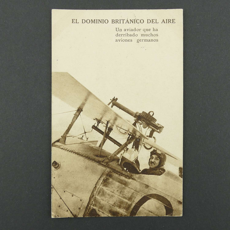 WW1 postcard, 1918