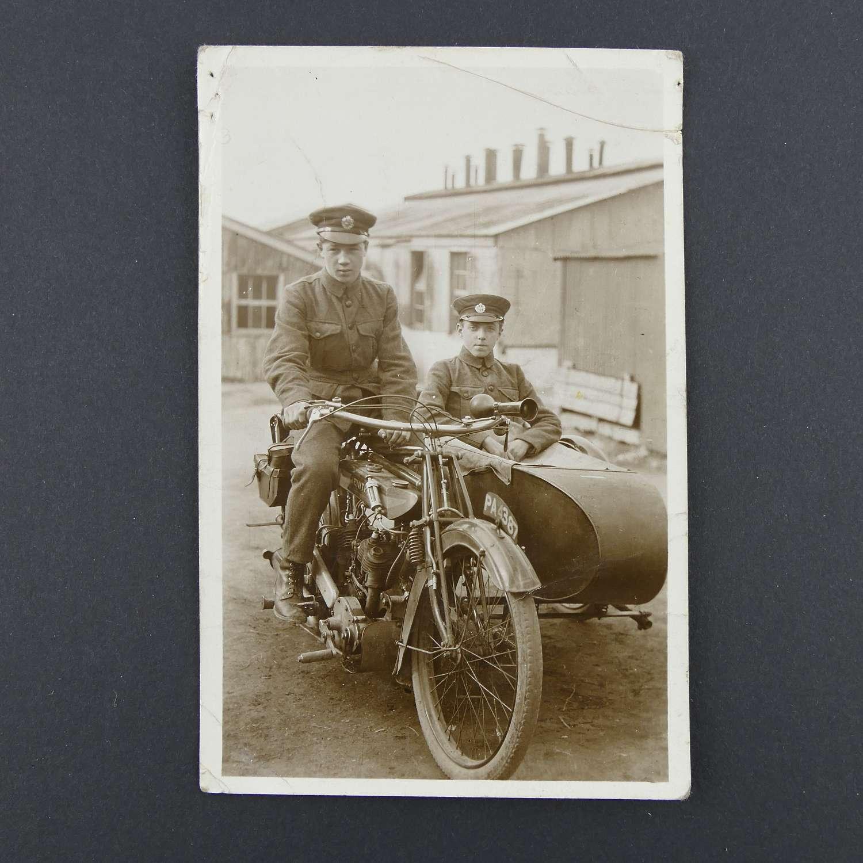 RAF postcard, early interwar period #1