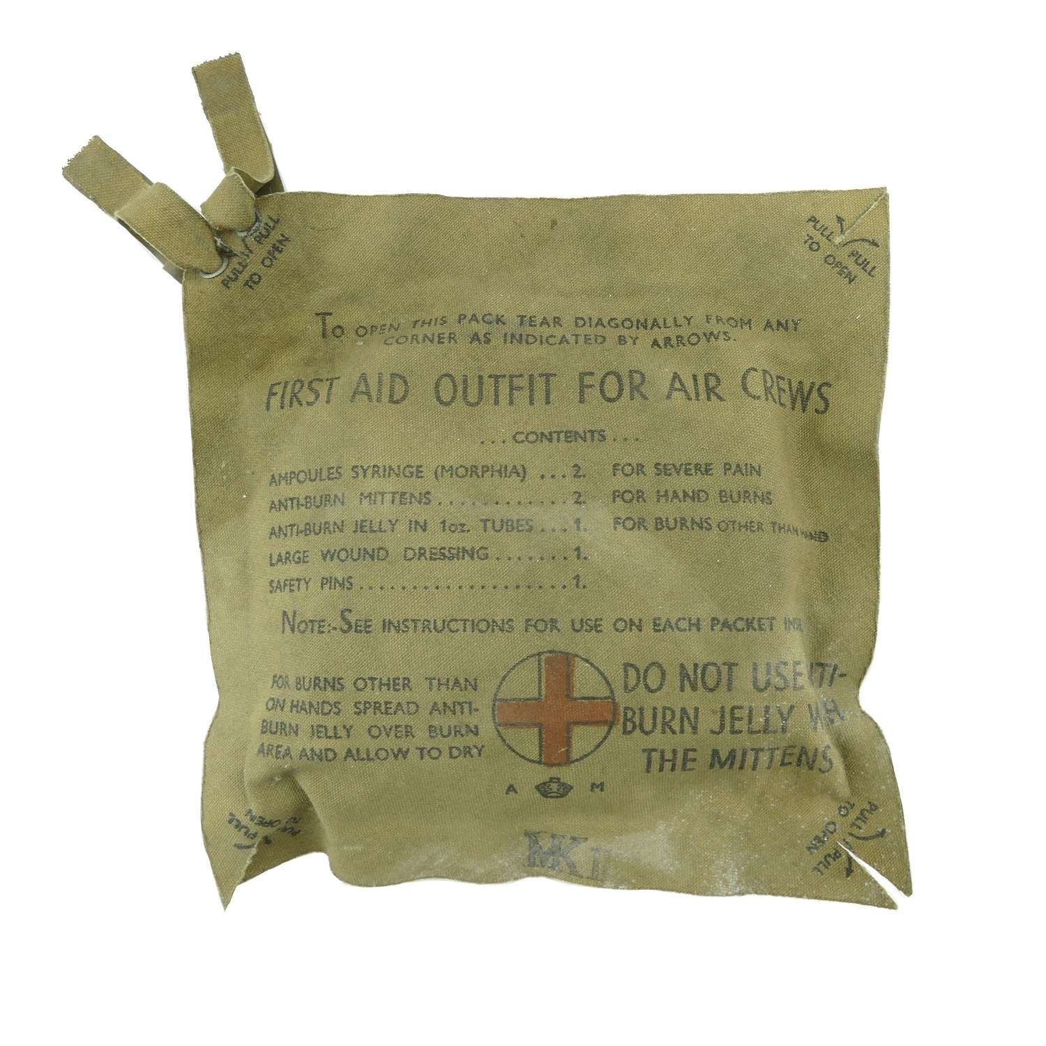 RAF First Aid Outfit For Air Crews, Mk.II