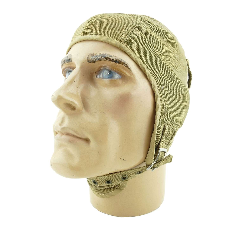 Interwar period American flying helmet