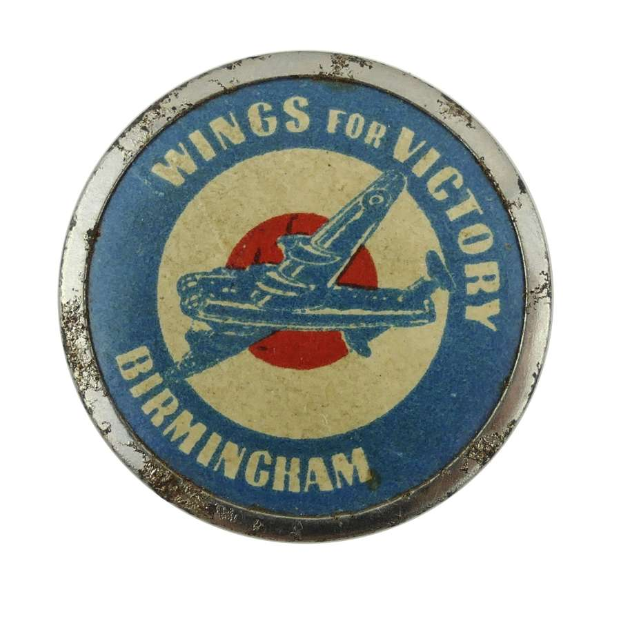 Wings for Victory badge