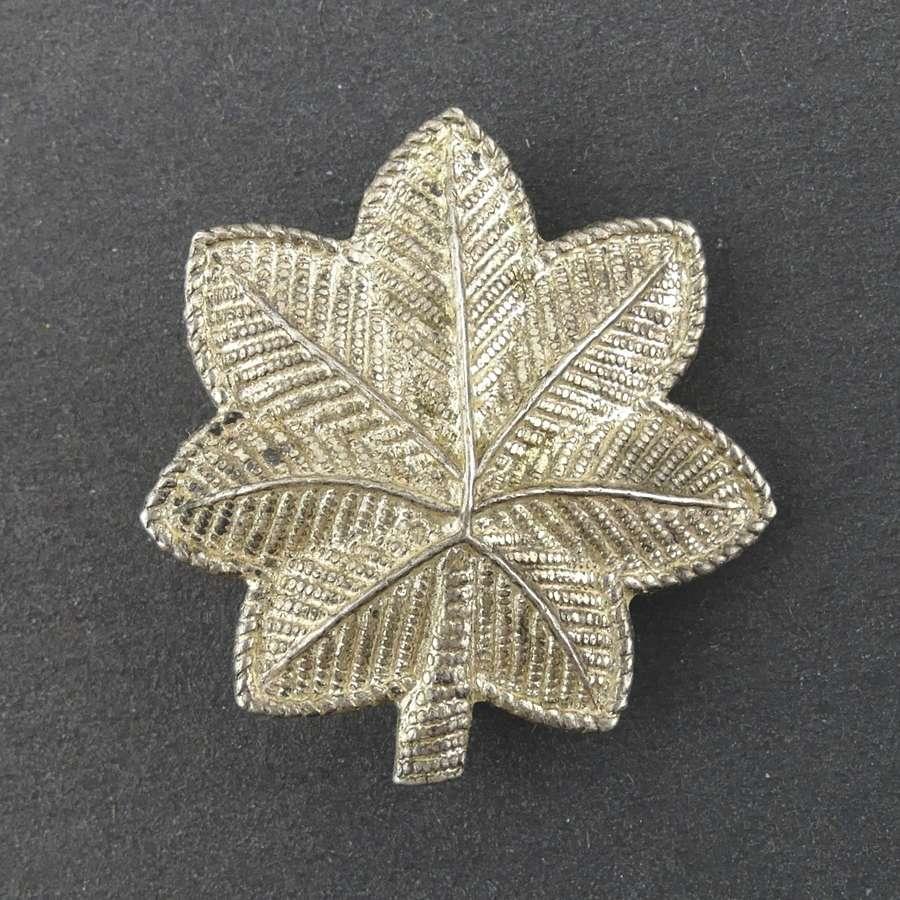US Lt. Colonel rank badge