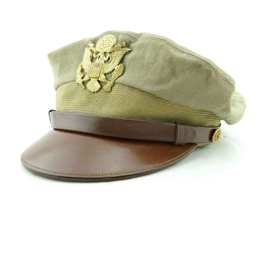 USAAF 'tropical' visor cap - named