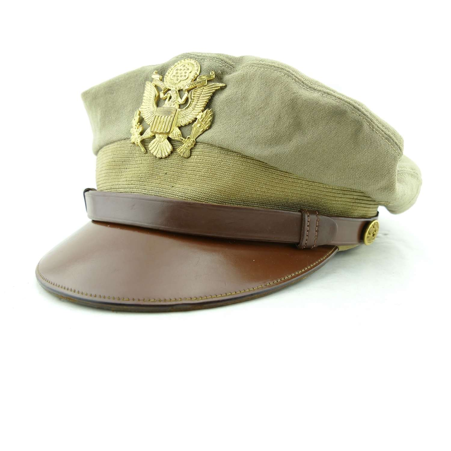 USAAF 'tropical' visor cap - named