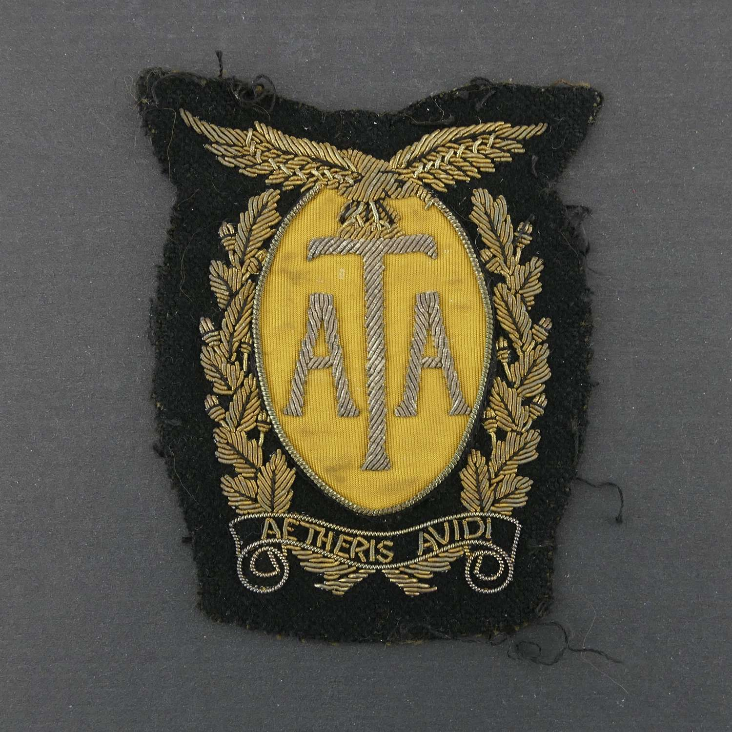 Air Transport Auxiliary blazer badge