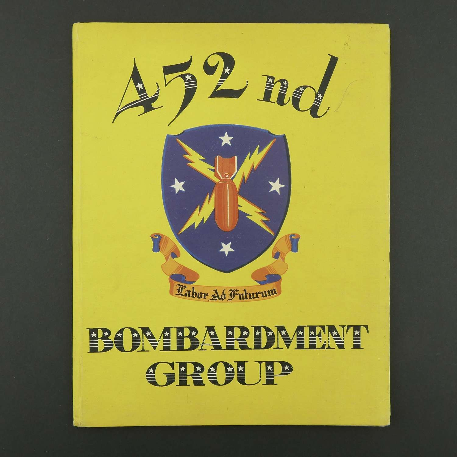 USAAF 452nd Bombardment Group unit history