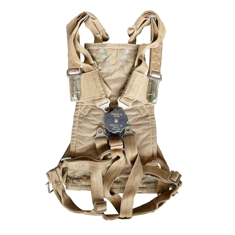 RAF observer parachute harness