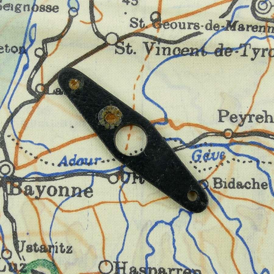 RAF 'lapel' bar escape compass
