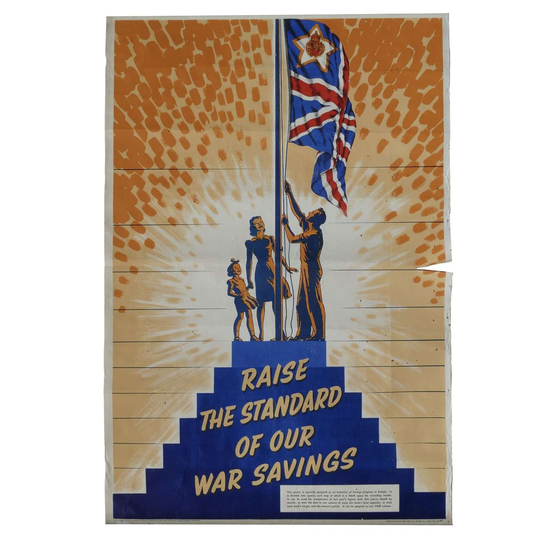 National War Savings Poster