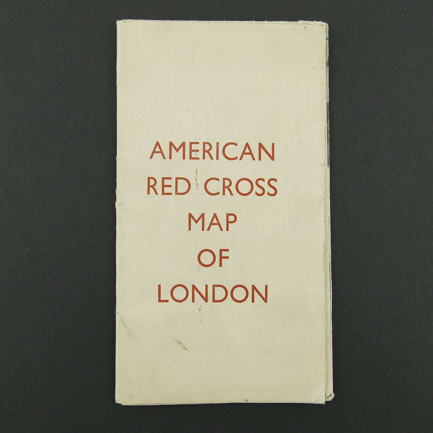 American Red Cross map of London