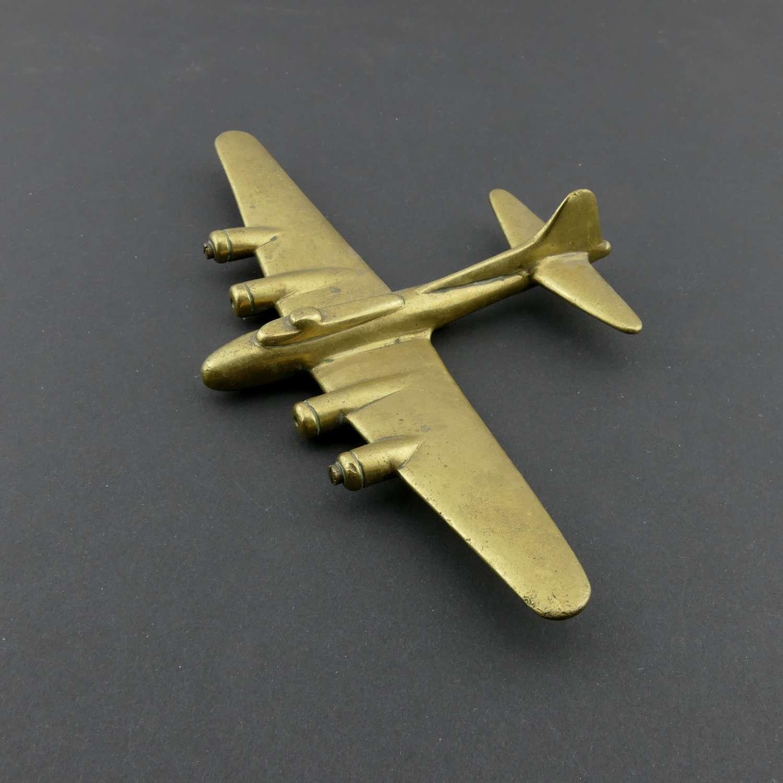 USAAF B-17 Flying Fortress desk model