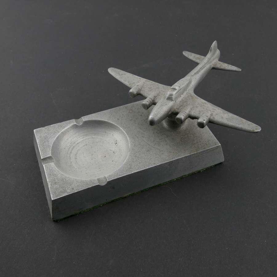 USAAF B-17 ashtray / model