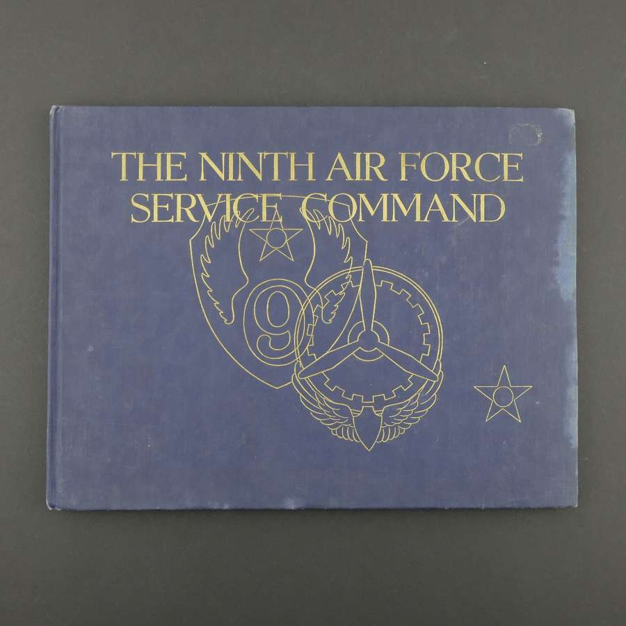 USAAF Ninth Air Force Service Command history