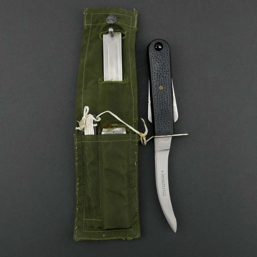 RAF MK.III flying suit knife/patch