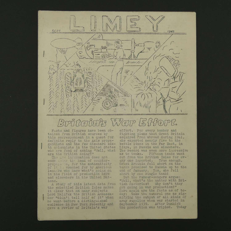 USAAF 'Limey' magazine, 1942