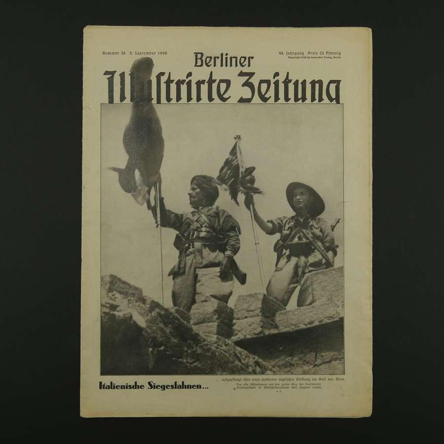 Berliner Illustrirte Zeitung magazine, 1940