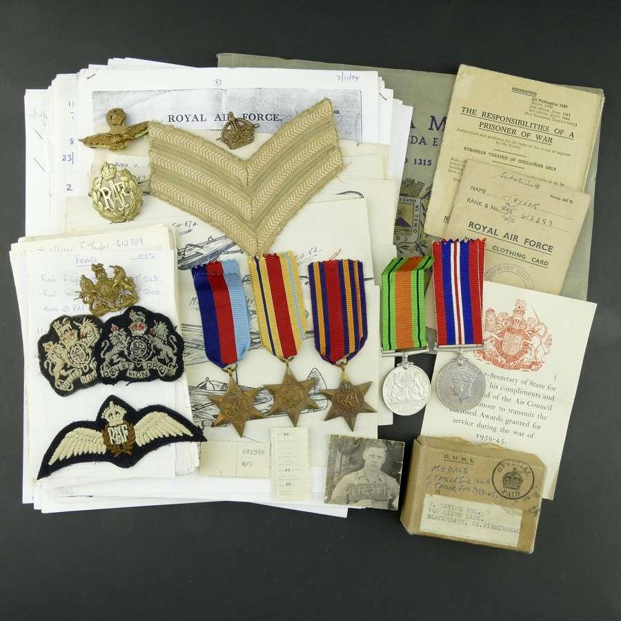 RAF medals & ephemera