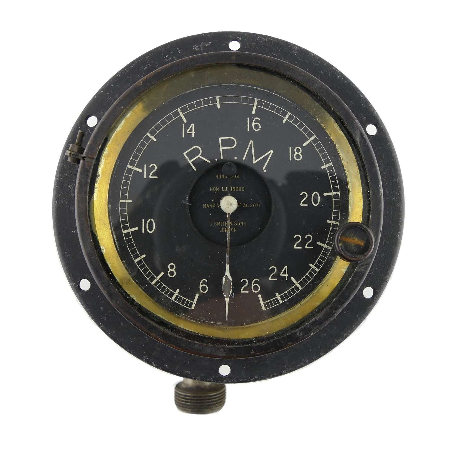 WW1 RFC aircraft Rev counter