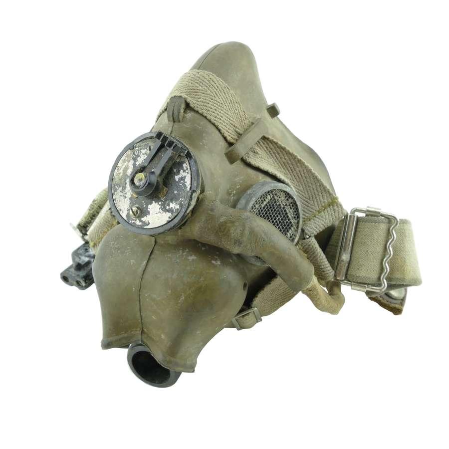 RAF H-type oxygen mask, WW2 dated