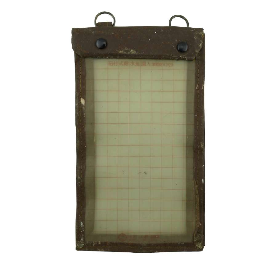 Imperial Japanese Air Force map case