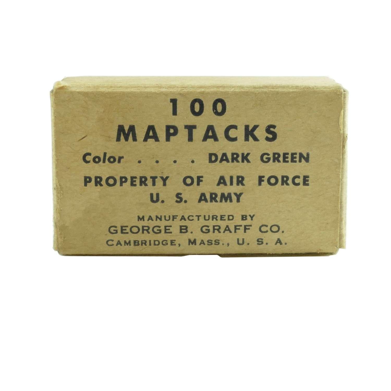 USAAF map tacks