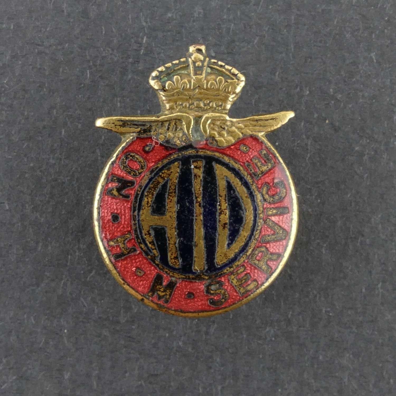 A.I.D. lapel badge
