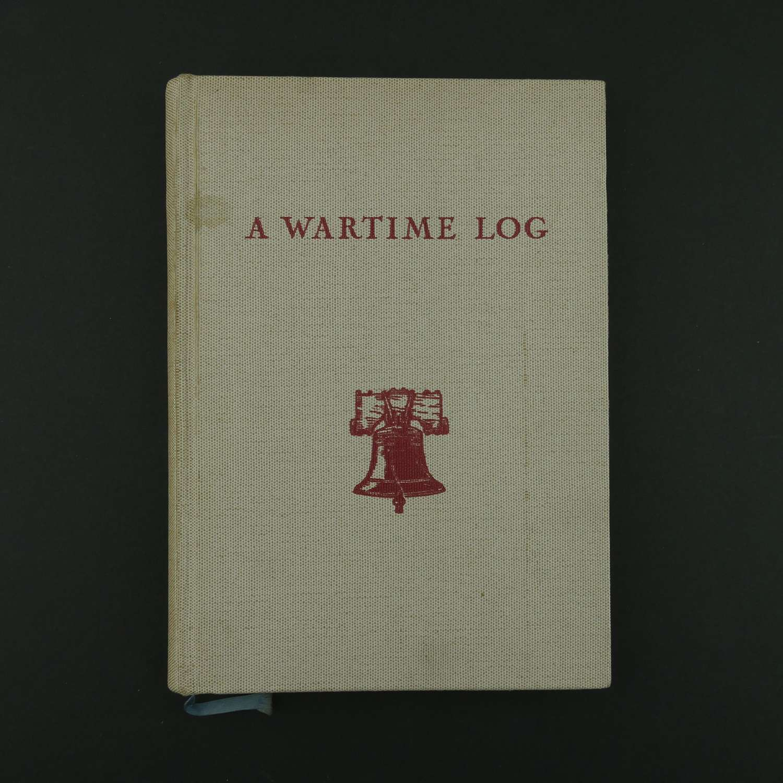 A Wartime Log - YMCA POW book