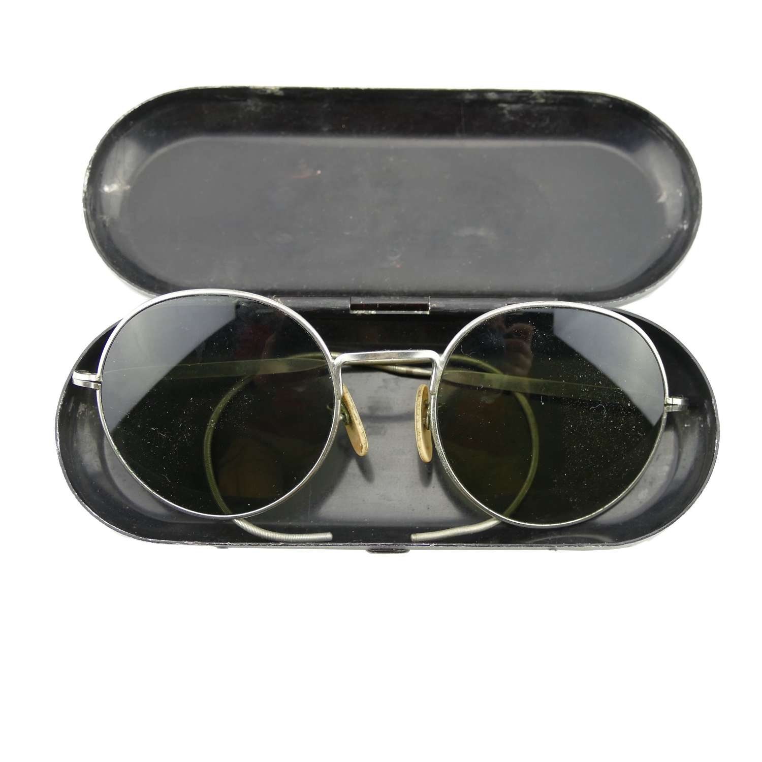 RAF Mk.VIII flying sunglasses, cased