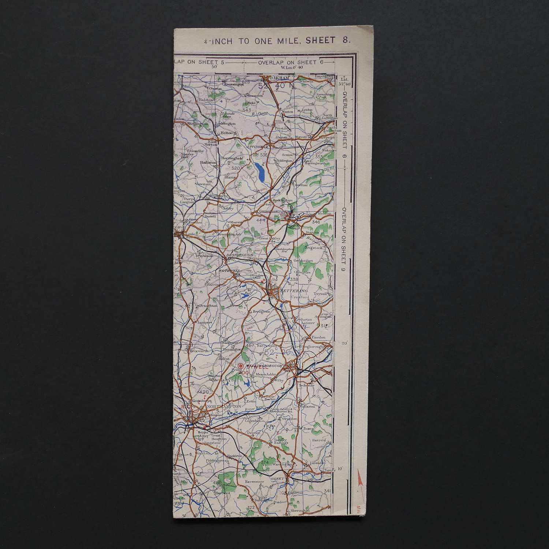 RAF flight map, Midlands (S)