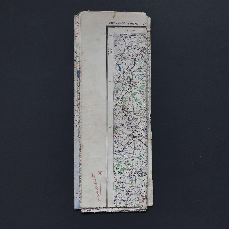 RAF flight map, Eastern Counties (S)