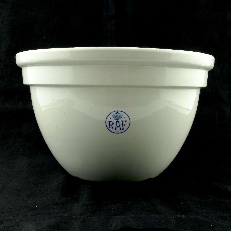 RAF mixing bowl