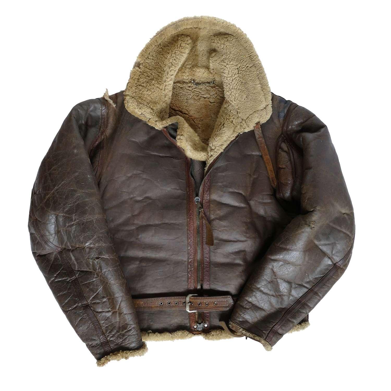 RAF Irvin flying jacket - history