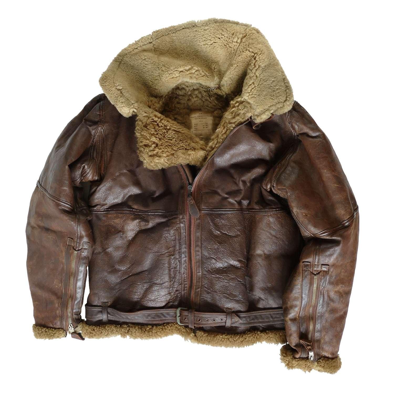 RAF Irvin flying jacket, size 8