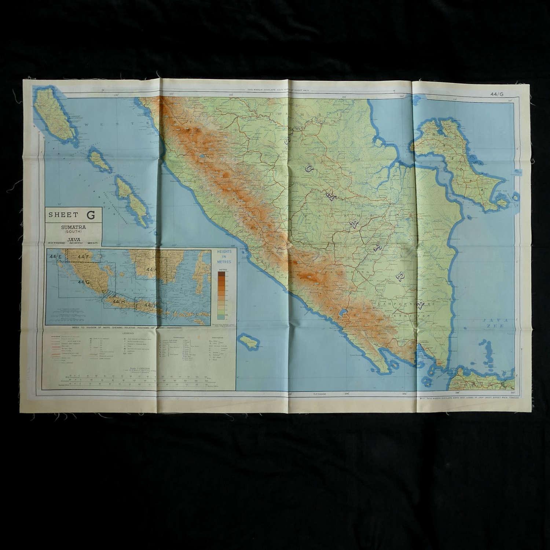 RAF escape & evasion map, 44G/H