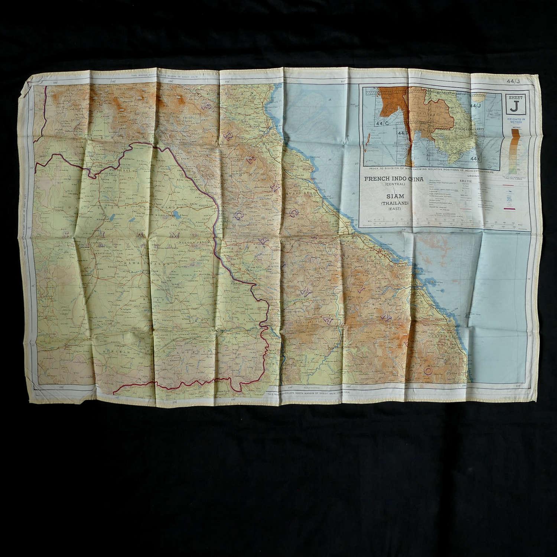 RAF escape & evasion map, 44J/K