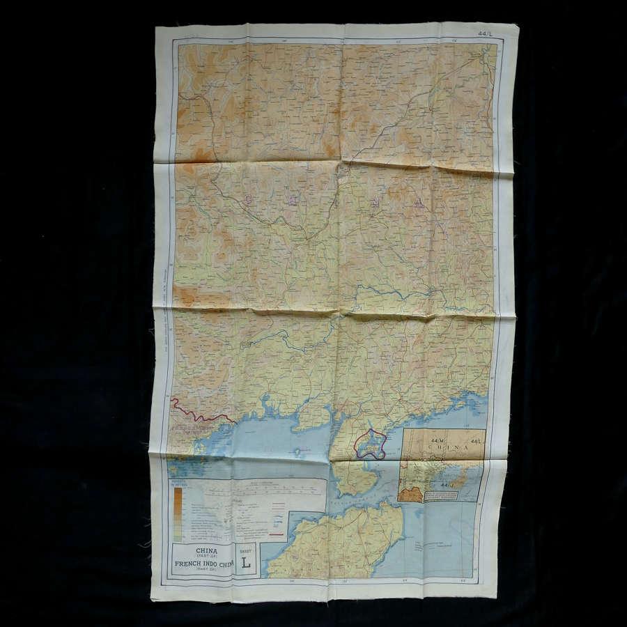 RAF escape & evasion map, 44L/M