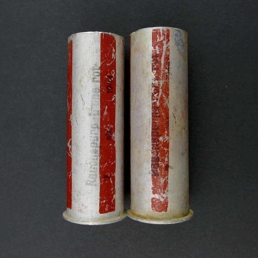 Luftwaffe flare pistol cartridges - red