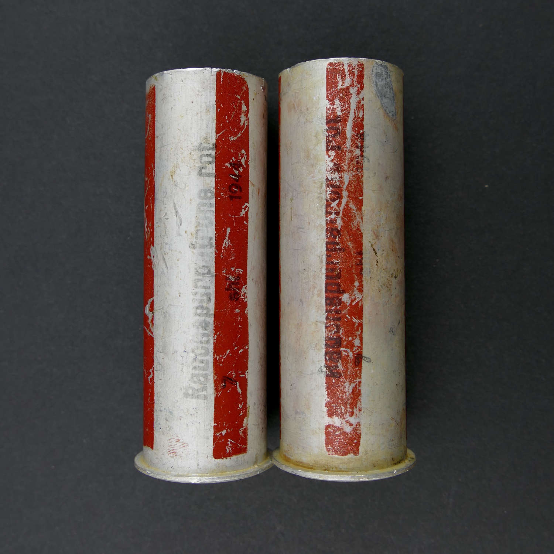 Luftwaffe flare pistol cartridges - red