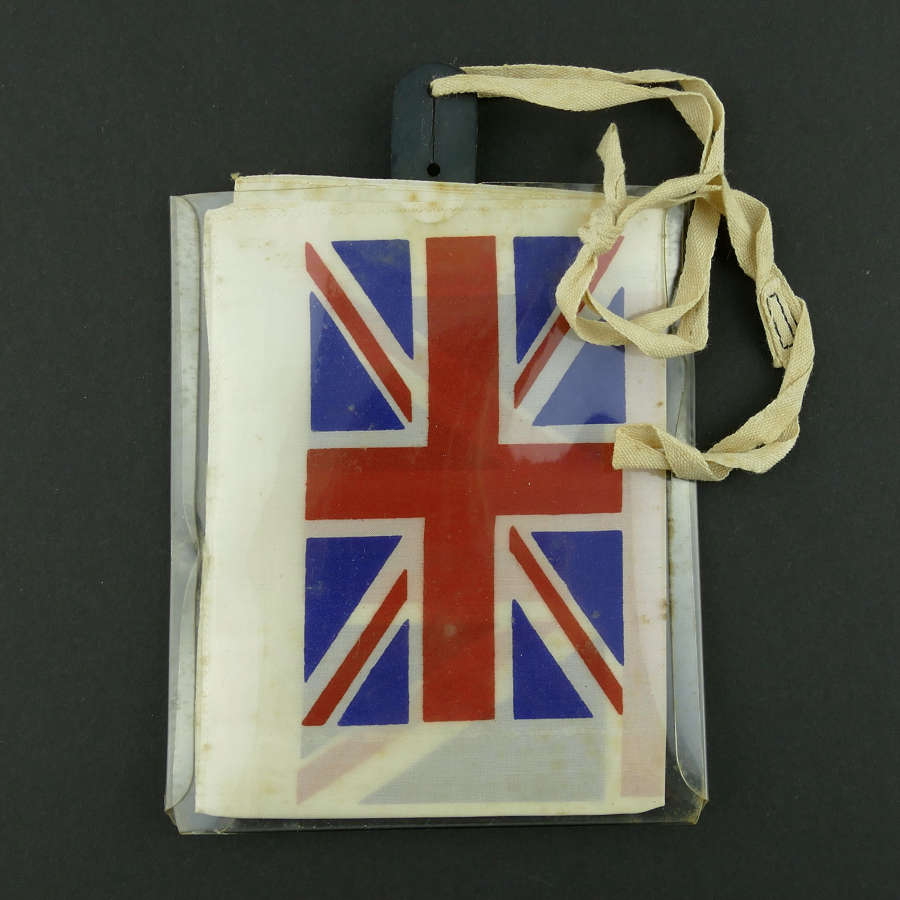 RAF Russian blood chit & pouch