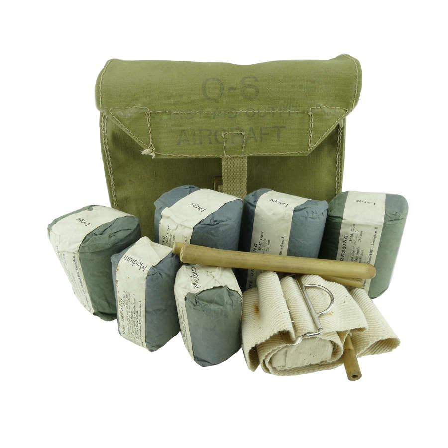 RAF first aid outfit, aircraft