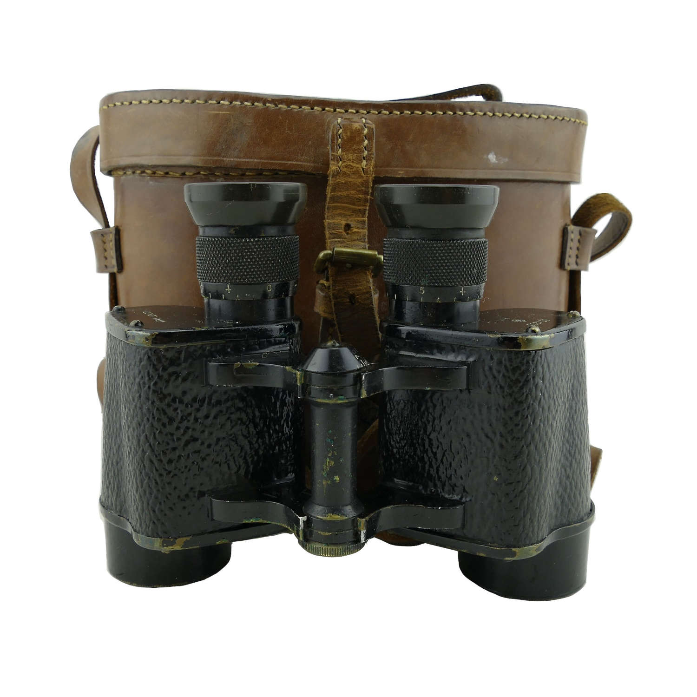 RAF / Air Ministry binoculars, cased