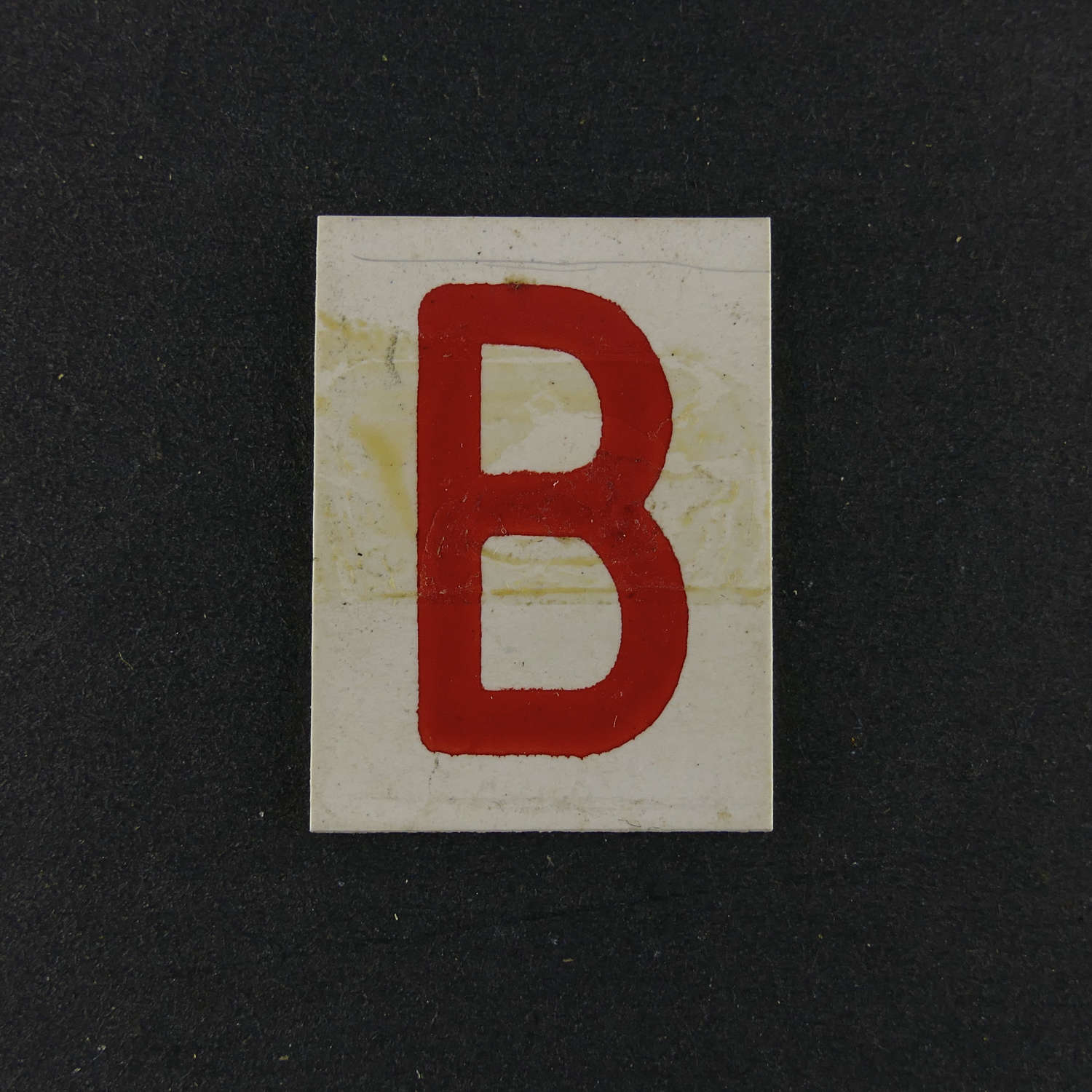 RAF operations room raid block tile,  'B'