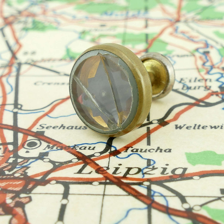 RAF / SOE escape & evasion collar stud compass