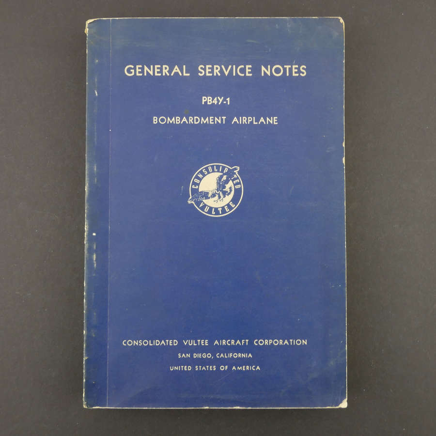 USAAF General Service Notes - Liberator, 1944
