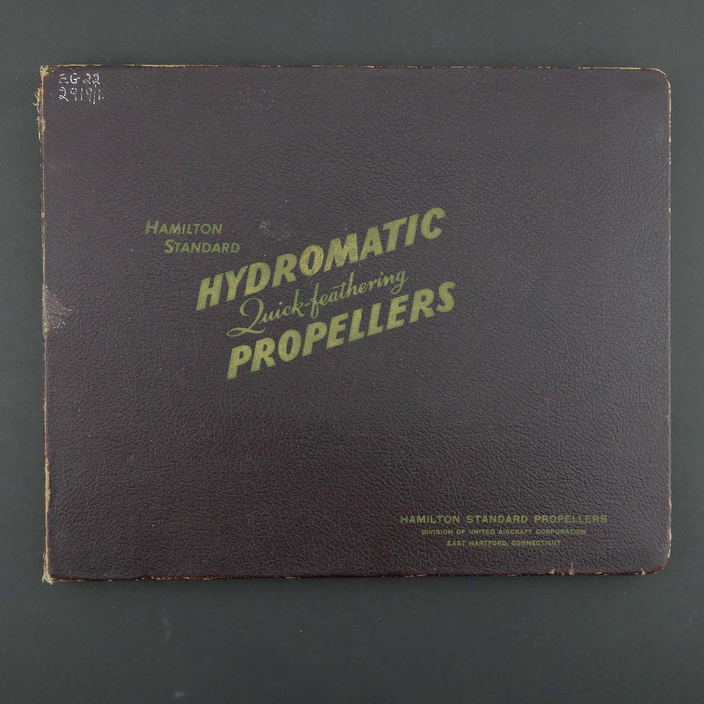 Hamilton Standard propeller sales book