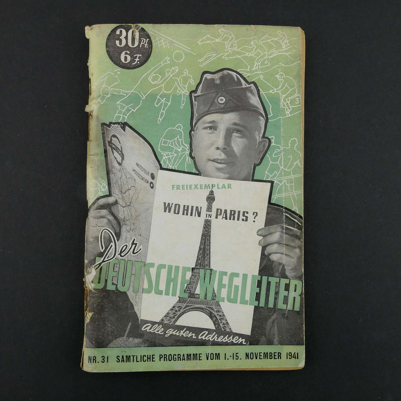 Wohin in Paris - Der Deutsche Wegleiter, 1941
