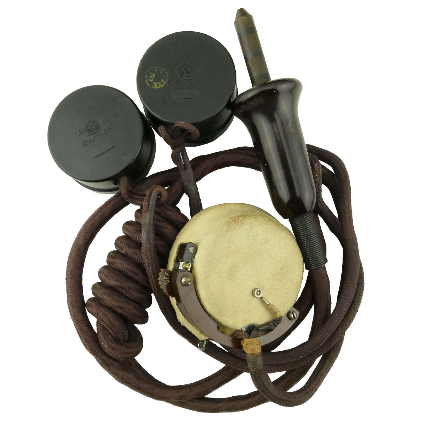 RAF type 19 microphone assembly