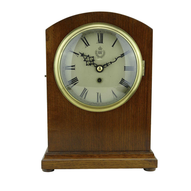 RAF Domed Top Mantel clock, 1939