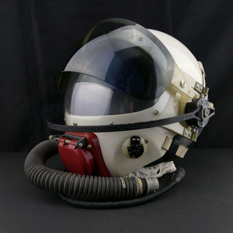 RAF partial pressure flying helmet, Type E, cased