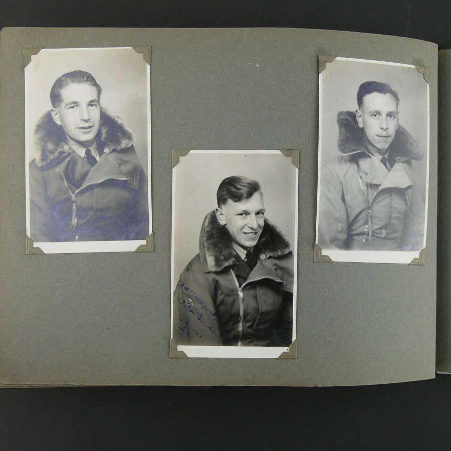 RAF photograph album